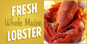 Fresh Whole Maine Lobster